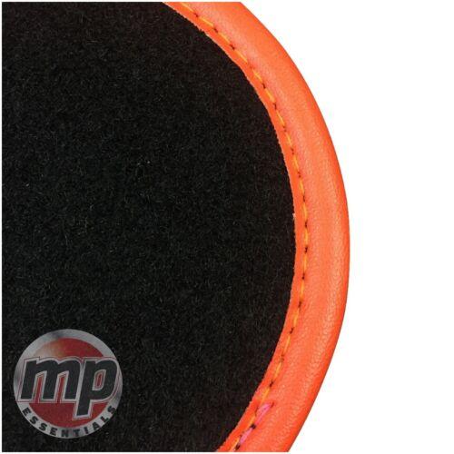 Perfect Fit Noir tapis de voiture Tapis de sol sur mesure pour Mitsubishi Space Star 99-05