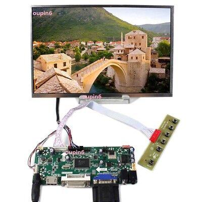 "HDMI VGA 2AV LCD Controller Board 10.1/"" LP101WX1 B101EW05 1280x800 LCD Screen"