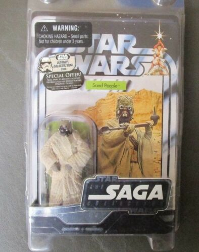 Sand People Tusken Raider 2006 STAR WARS The Saga Collection MOC UGH