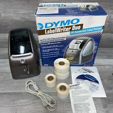 Dymo Label Writer Duo Model 93105 Ubs Thermal Label Printer No Power Cord