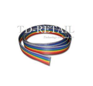 10-core Rainbow Wire - Strap Wire - Ribbon Flat Cable Wire Strip - X ...