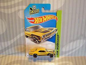 2014 Hotwheels ''HW Workshop'' 232 `67 Chevelle SS Yellow Int | eBay