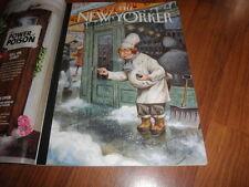 """Vintage NEW YORKER MAGAZINE-""""Just a Pinch""""- PETE DE SEVE-2013-Mint -No Label"""
