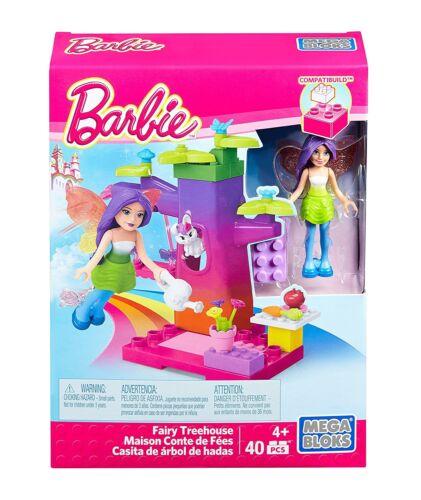 Mega Bloks Barbie Fairy Treehouse Building Kit