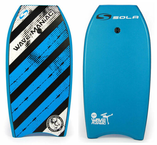 Red SOLA 37 Wave Maniac XPE Pro Bodyboard