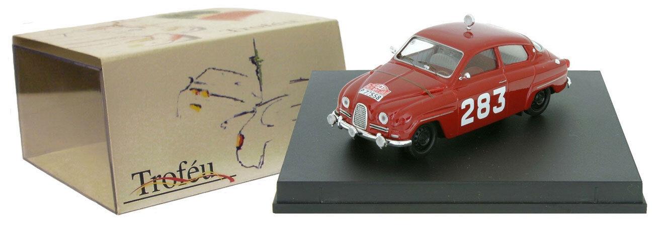 Hay más marcas de productos de alta calidad. Trofeu 1503 Saab 96  283 Ganador MonteCochelo 1963-Erik 1963-Erik 1963-Erik Cochelsson escala 1 43  tiempo libre