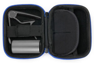 Hard-Blue-EVA-Shell-Case-Box-for-Guitar-Accessories-Capo-Slide-amp-Plectrums