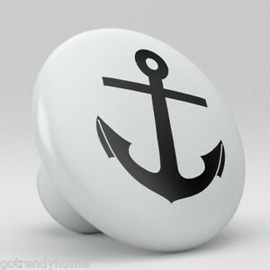 kitchen cabinet nautical knobs nautical anchor ceramic knobs kitchen drawer cabinet 19183