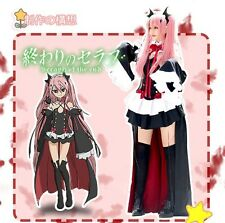 Anime Seraph Of The End Krul Tepes Cosplay Costumes Queen Unifrom Outfit Dress