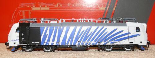 Hs Acme ac65406 e Lok 186.442 Traxx priv /'Lokomotion/' cebra a//c corriente alterna