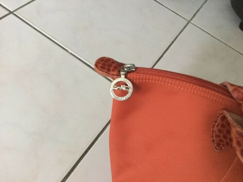Cuir Rouille Sac Croco Etat Orange Bon Longchamp xwtBT