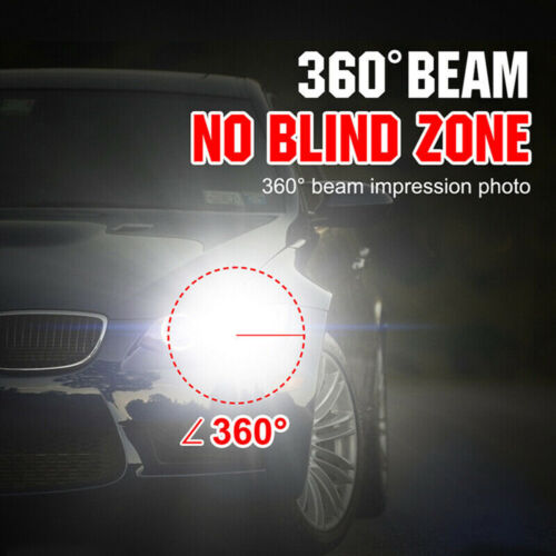 Replacement High Low Beam LED chips Headlight Bulbs For 05-2010 Chrysler 300C US