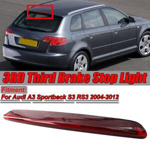 12V-LED-3RD-Troisieme-Frein-Stop-Feu-Arriere-Lampe-Pour-Audi-A3-Sportback-S3-RS3