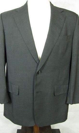 GORGEOUS Brooks Brothers Dark grau 4Season Super 100s Wool Suit 40R