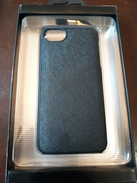 online store 6c654 3d7e1 Adopted Leather Cell Phone Case for Apple iPhone 5 5s SE Saffiano Black 6e