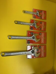 Craftsman-4-Piece-Adjustable-Wrench-Set-6-8-10-12-NEW
