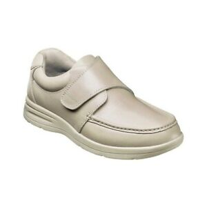 Nunn-Bush-Men-039-s-Cam-Moc-Toe-Hook-and-Loop-Slip-On-Shoe