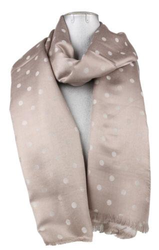 Fine Pashmina Polka Dots Shawl Soft Scarf Large Long Tassels Gift Christmas