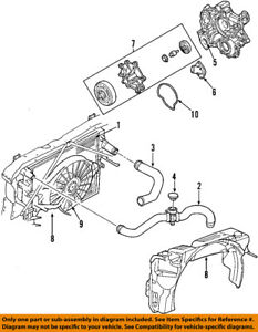 image is loading dodge-chrysler-oem-00-04-dakota-radiator-coolant-