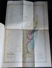 BARBAROUX De La Transportation COLONIE PENITENTIAIRE Carte MADAGASCAR RARE 1857