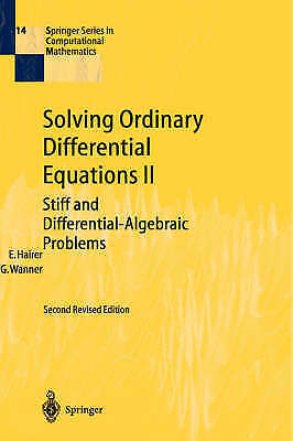 Solving Ordinary Differential Equations II: Stiff and Differential-Algebraic Pr