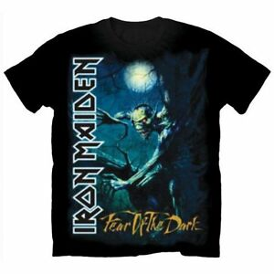 Official-IRON-MAIDEN-Fear-Of-The-Dark-T-shirt-Black-Sizes-S-to-XXL-Tree-Sprite