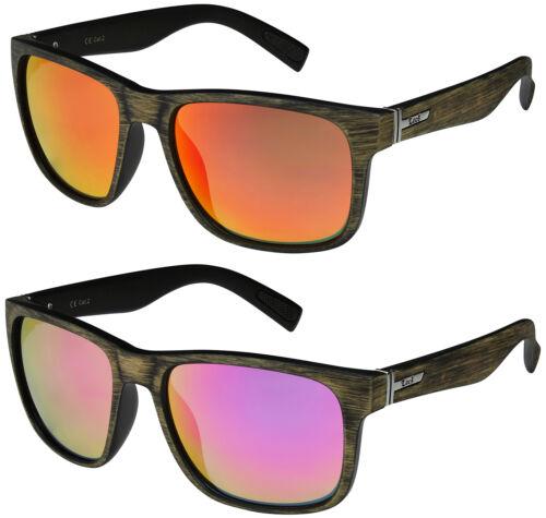 2er Pack Locs 91086 Choppers Fahrradbrille Sonnenbrille Frauen schwarz weiß matt