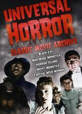 Universal Horror: Classic Movie Archive (DVD, 2009, 2-Disc Set, 5 Halloween Candy Cash Offer)