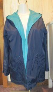 Blue Stadium Zenergy størrelse 3 Aquamarine L Reversible Jacket Navy xl Chico's AzqdxBw5z