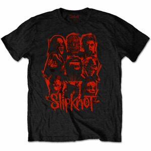 Official-Slipknot-T-Shirt-We-Are-Not-Your-Kind-Red-Patch-Black-Rock-Metal-WANYK