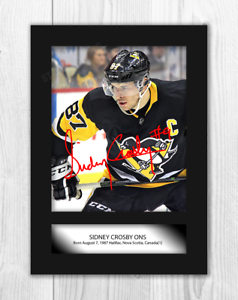 Sidney-Crosby-1-NHL-Pittsburgh-Penguins-A4-signed-poster-Choice-of-frame
