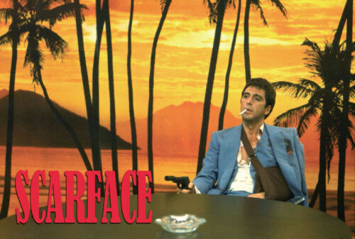 Y767 Scarface Al Pacino Sunset Scene Hot Poster 14x21 24x36 27x40IN