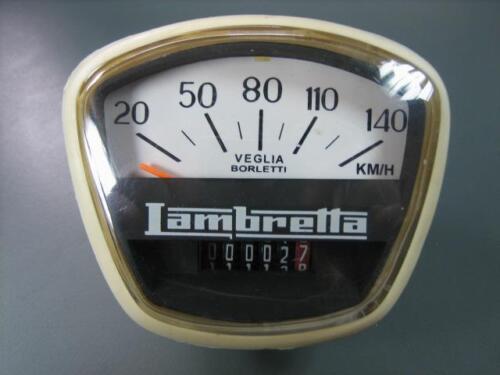 Compteur de vitesse 140 km//h Lambretta Gp//Dl