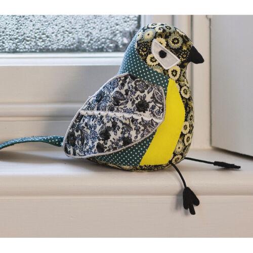 Briefbeschwerer Vogel aus Stoff Kohlmeise Dora Designs