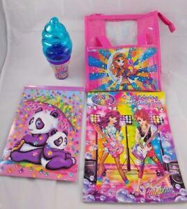 Lisa-Frank-Stationery-Panda-Bear-Notepad-Purse-Coloring-Book-Ice-Cream-Cone