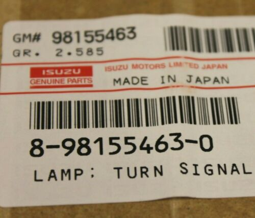 Turn Signal Corner Lamp Left Side For ISUZU NPR NQR NPR-HD 2008-2015 Genuine