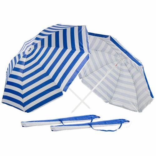Tasche 2er-Set 2-teilige Sonnenschirme mit Sonnenschutz UV30+ Ø160cm