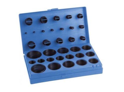 Kit o-ring oring valigetta da 419 pezzi guarnizioni gomma diverse misure