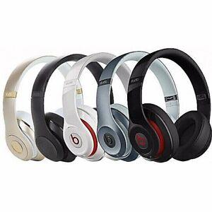 Beats By Dre Studio 2 Wireless On Ear Headphones Bluetooth Black White Gold Red Ebay