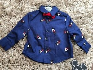 c70c110cb PRIMARK BABY BOYS DISNEY MICKEY MOUSE SHIRT AND BOW TIE BNWT ALL ...