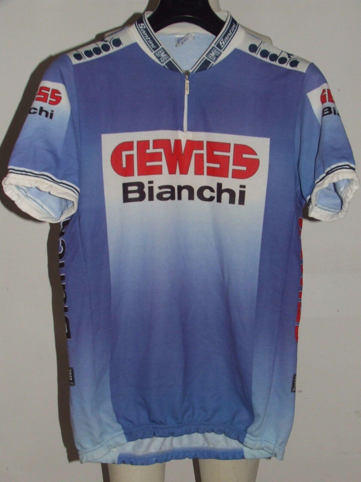 Bike Cycling Jersey Shirt Maillot Cyclism Team Gewiss Bian   Santini Size XXL  free shipping!