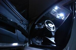 Bmw 5 Series E60 Led White Interior Number Plate Licence Lights