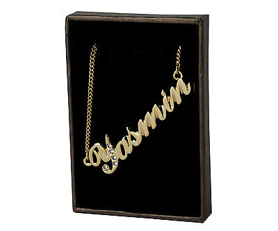 Yasmeen/' 18K Gold Plated in Arabic Font Eid Gifts Name Necklace /'Yasmin