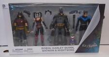 Batman Arkham City 4-Piece Action Figure Set (2016) DC New Harley Quinn