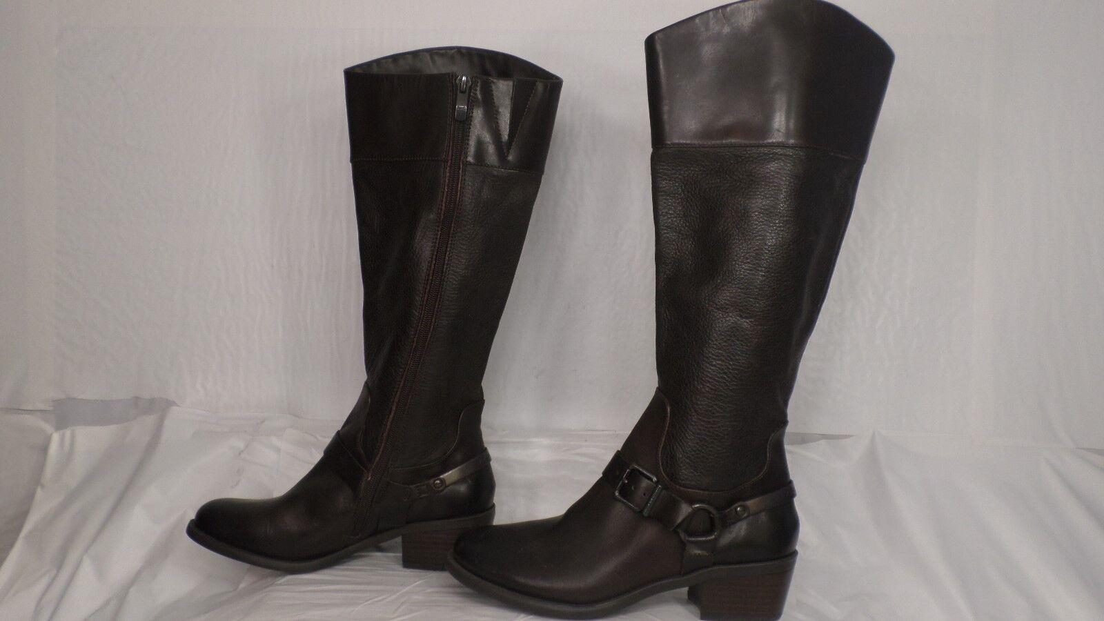 prendi l'ultimo Vince Camuto 'Brunah' 'Brunah' 'Brunah' Marrone Leather Knee High Riding avvio donna Dimensione 6.5 M  acquisto limitato