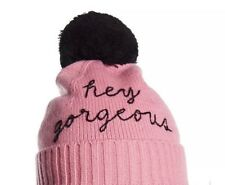 cb7a9da29b25a Kate Spade Gathered Bow Pastry Pink Merino Beret Hat for sale online ...