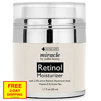 Radha Beauty Antiaging Retinol Moisturizer Cream For Face, With Active Retinol