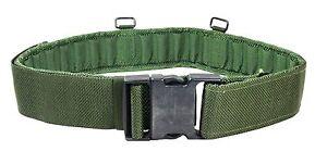 British-Olive-Green-PLCE-Belt-Surplus-Webbing-Army-Military-Pistol-Issued