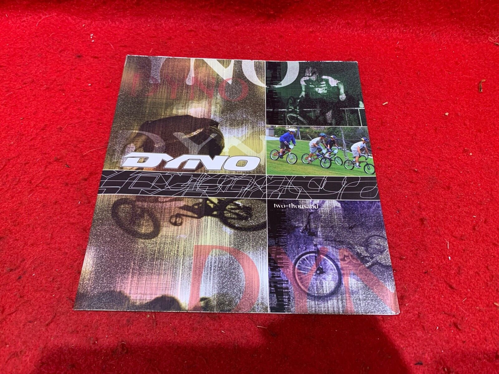 NOS VINTAGE '00 DYNO PRODUCT CATALOG 2000 TWO THOUSAND BMX  FREESTYLE RACING  sales online