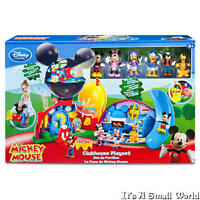 Disney Store Mickey Mouse Clubhouse Deluxe Playset 15 H & 6 Figurines